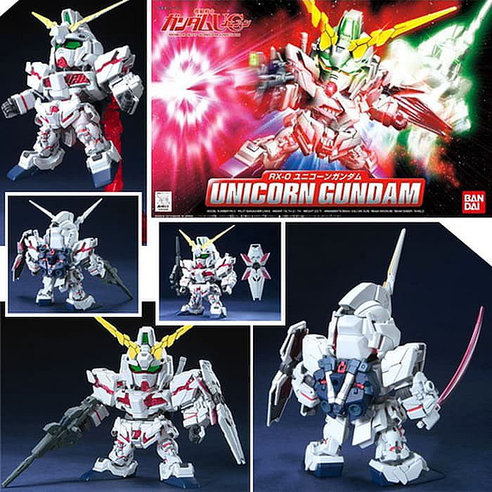 Bandai BB 360 Unicorn Gundam